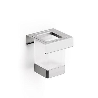 Inda INDISSIMA modulo bicchiere, finitura acciaio inox spazzolato A8810MNS21
