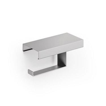 Inda INDISSIMA modulo portarotolo sinistro con coperchio, finitura acciaio inox spazzolato A8826MNS