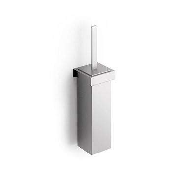 Inda INDISSIMA modulo portascopino, con fondello estraibile, finitura acciaio inox spazzolato A8814MNS