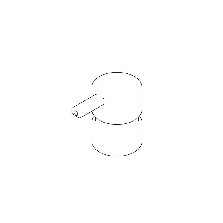 Inda Erogatore in ottone per art. A88120, finitura cromo R88120