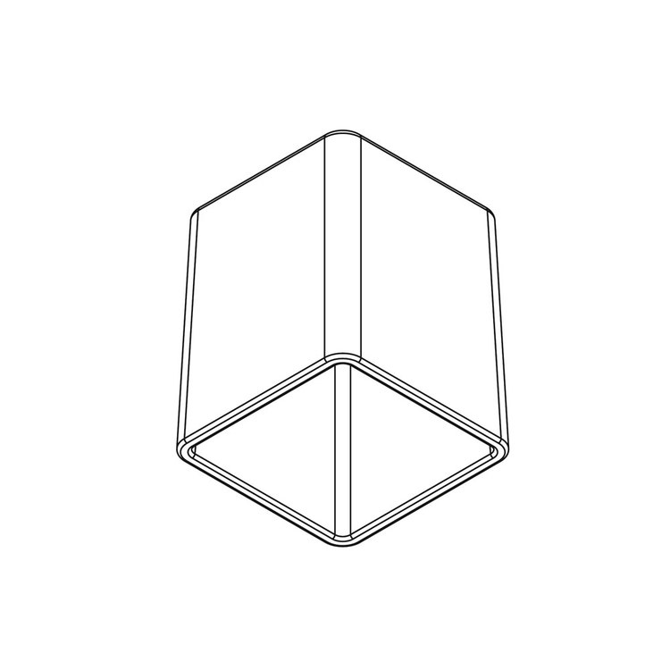 Inda Copriserbatoio in vetro satinato per art. A88670-A18670 R88670