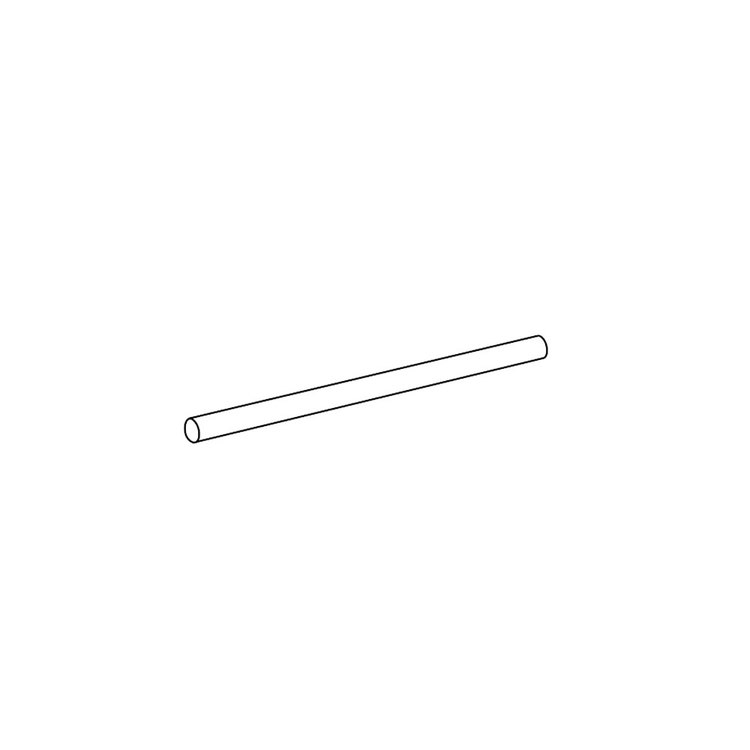 Inda Tubo L.30 cm, per art. A2218A - A2219A - A0418A, confezione da 10 pz, finitura cromo A2246ACR007