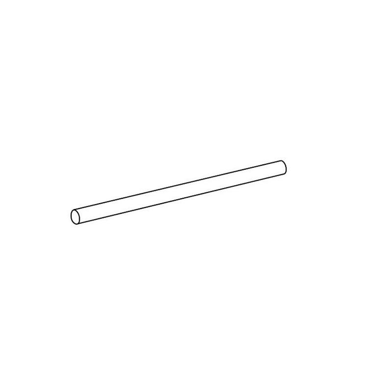 Inda Tubo L.45 cm, per art. A2218B - A2219B - A0418B, confezione da 10 pz, finitura cromo A2246BCR007