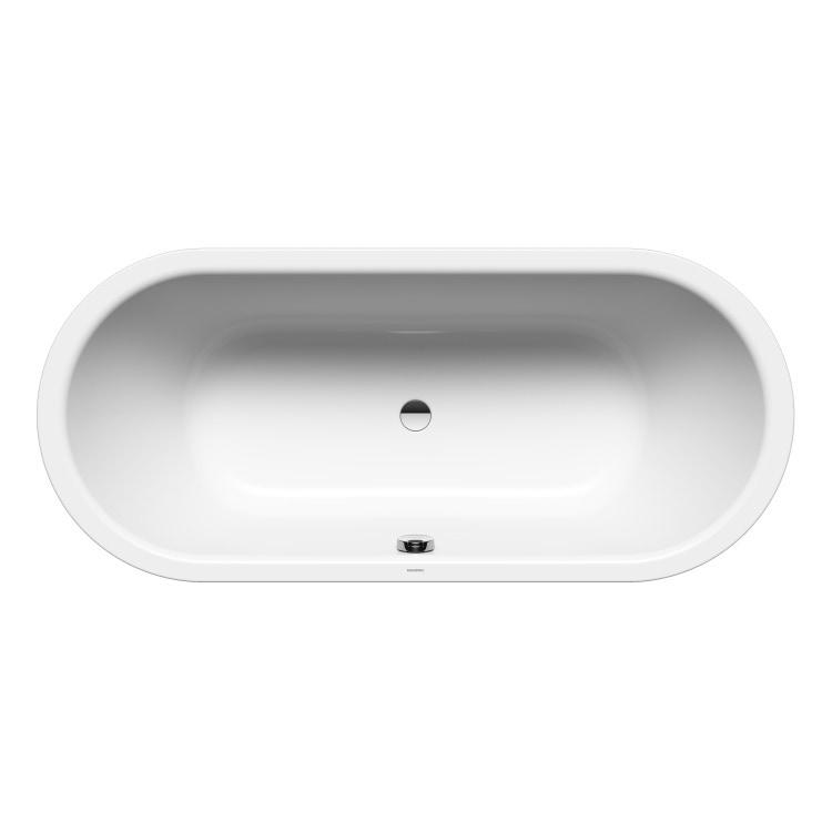 Kaldewei CLASSIC DUO OVAL vasca ovale L.170 P.75 cm, in acciaio smaltato, colore bianco alpino 291400010001