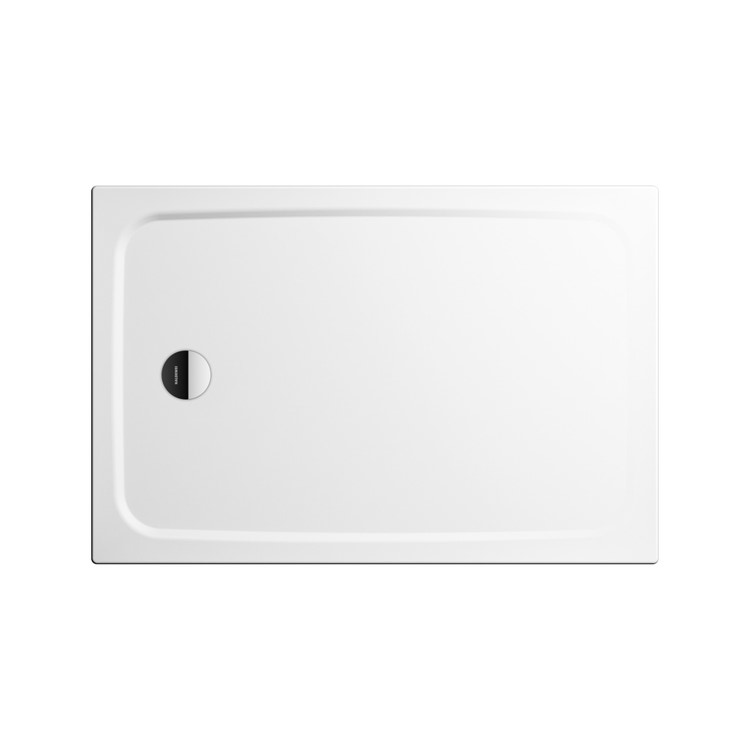 Immagine di Kaldewei CAYONOPLAN piatto doccia rettangolare L.100 P.75 cm, in acciaio smaltato, con supporto extrapiatto, colore bianco alpino 361547980001