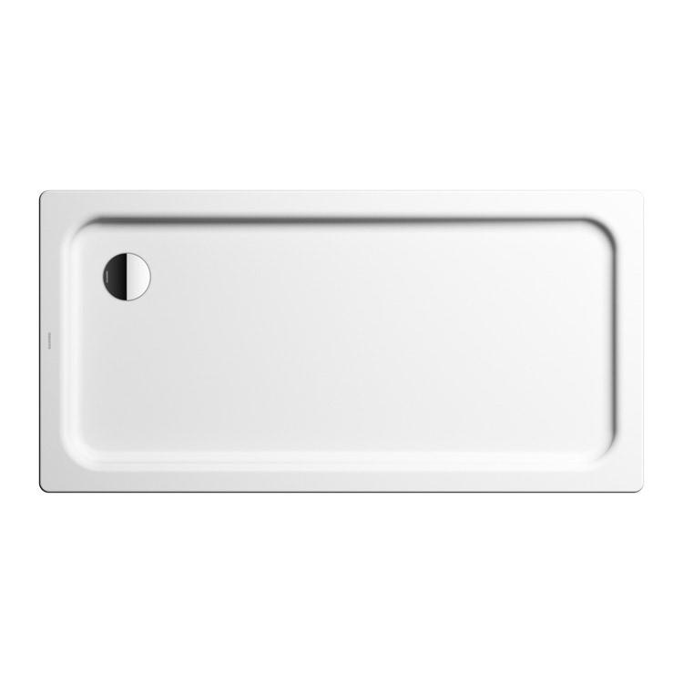 Immagine di Kaldewei DUSCHPLAN piatto doccia rettangolare L.140 P.75 cm, in acciaio smaltato, colore bianco alpino 432500010001