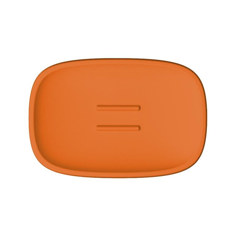 Immagine di Colombo Design TRENTA MOOD porta sapone d'appoggio, colore sunset orange B3040RAL2003