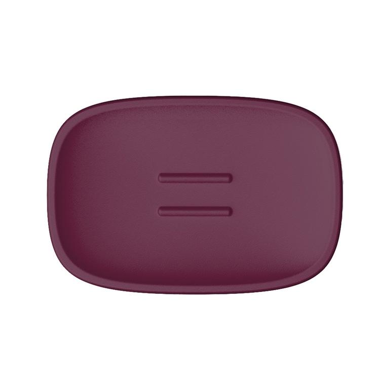 Immagine di Colombo Design TRENTA MOOD porta sapone d'appoggio, colore claret violet B3040RAL4004