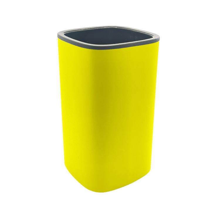 Immagine di Colombo Design TRENTA MOOD porta bicchiere d'appoggio, colore lemon yellow B3041RAL1018