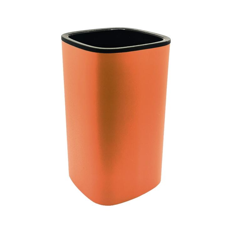 Immagine di Colombo Design TRENTA MOOD porta bicchiere d'appoggio, colore sunset orange B3041RAL2003