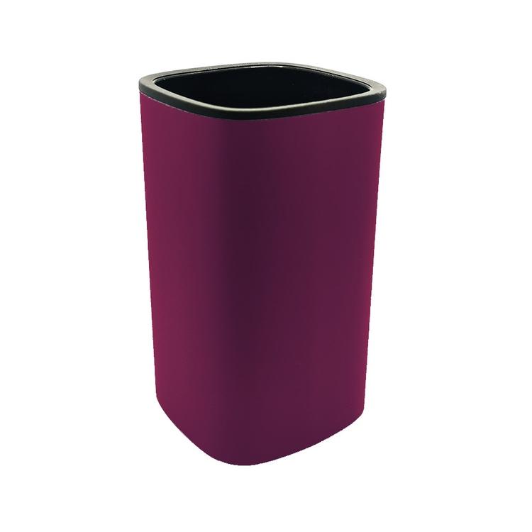 Immagine di Colombo Design TRENTA MOOD porta bicchiere d'appoggio, colore claret violet B3041RAL4004