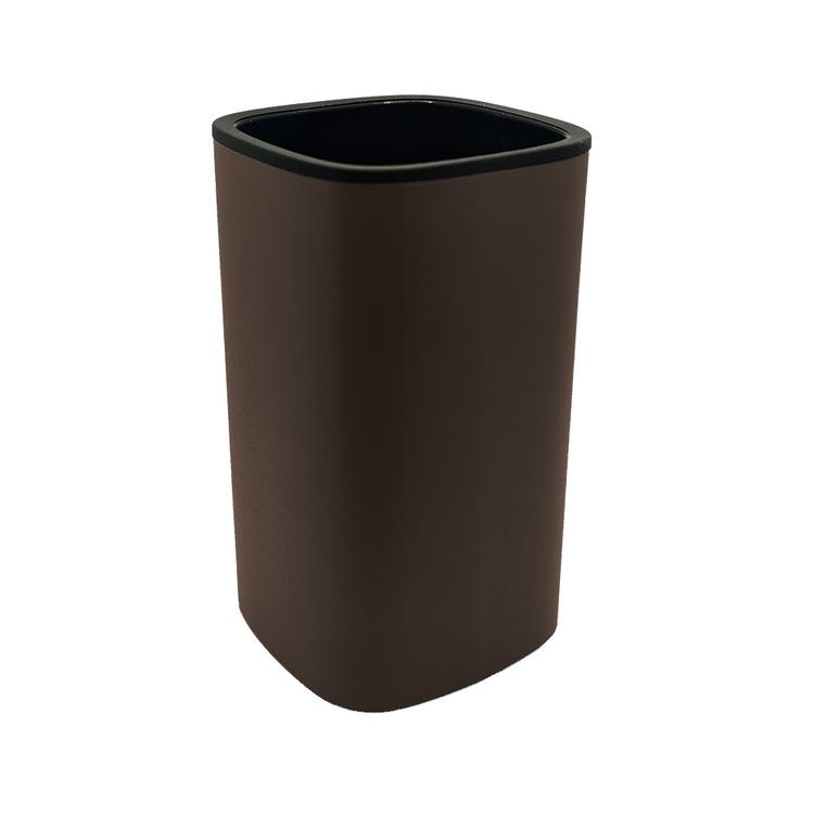 Immagine di Colombo Design TRENTA MOOD porta bicchiere d'appoggio, colore bronze anodic brown B3041RALAB