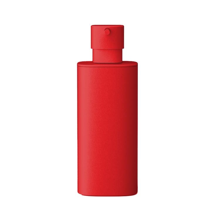Immagine di Colombo Design TRENTA MOOD spandisapone (L. 0,30) d'appoggio, colore strawberry red B9341RAL3018