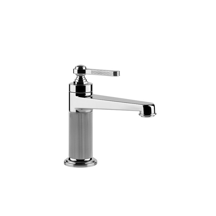 Immagine di Gessi VENTI20 miscelatore lavabo H.17 cm, senza scarico e flessibili di collegamento, finitura cromo 65002#031