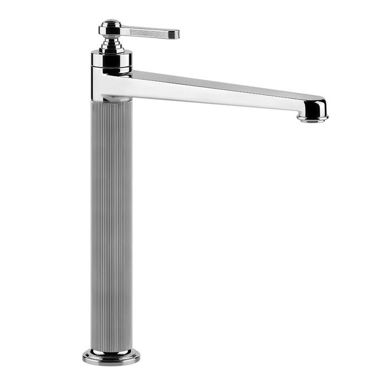 Immagine di Gessi VENTI20 miscelatore lavabo H.32 cm, senza scarico e flessibili di collegamento, finitura cromo 65004#031