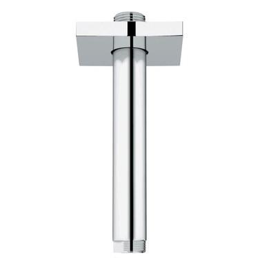 Grohe Rainshower® Braccio a Soffitto per Soffione Doccia, Lunghezza 142 mm, Cromo 27485000