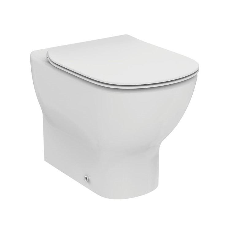 Ideal Standard Tesi Sedile.Ideal Standard T353101 Tesi Vaso Filo Parete Universale Con Sedile Slim A Chiusura Rallentata Fissaggi A Pavimento Bianco Prezzi E Offerte Su Tavolla Com
