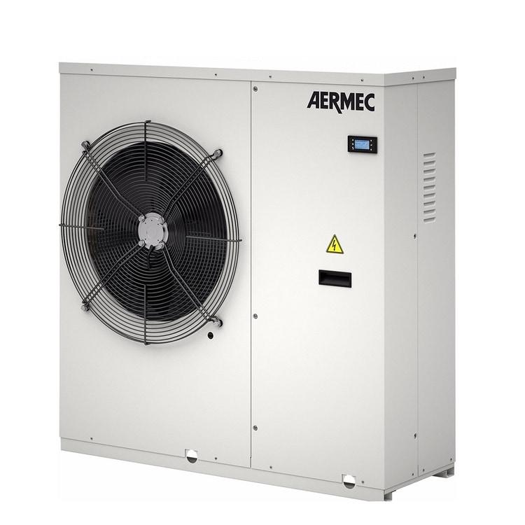 Aermec ANKI Pompa di calore INVERTER aria-acqua monofase con circolatore e ventilatore INVERTER  ANKI025HX°°J°°M°