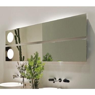 Flaminia SIMPLE 150 Specchio reversibile con luce, installazione orizzontale e verticale NDS150
