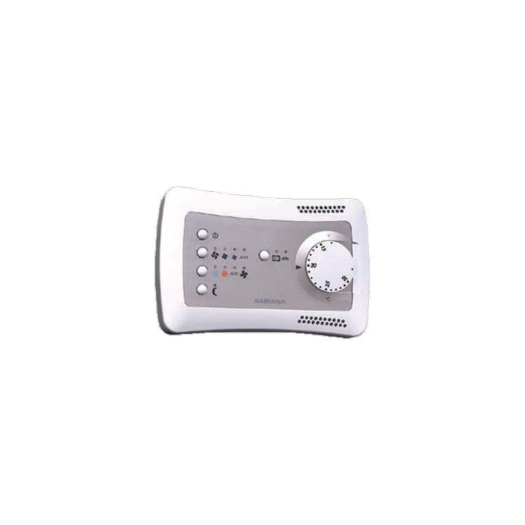 Sabiana Comando a parete automatico 3 velocità con termostato elettronico e commutatore estate/inverno 9066632