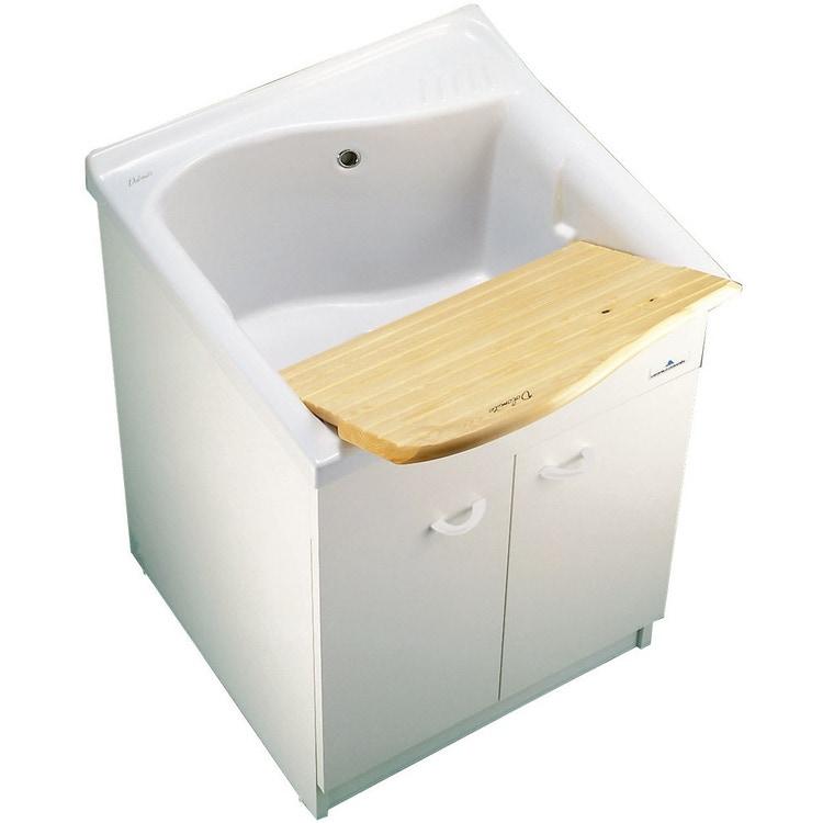 Ideal Standard LAGO lavatoio da incasso 75 x 61 cm, bianco (solo lavatoio) J305900