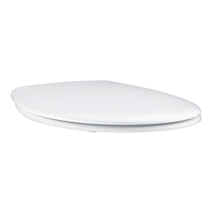Grohe Bau Ceramic sedile con coperchio, in termoindurente, bianco 39492000