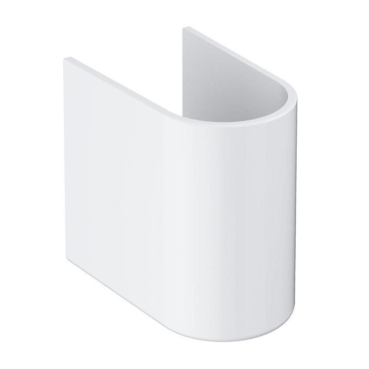 Grohe Euro Ceramic semicolonna, bianco 39201000