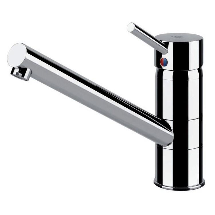 Gessi CARY miscelatore monocomando con canna girevole, per lavello, finitura cromo 17116#031