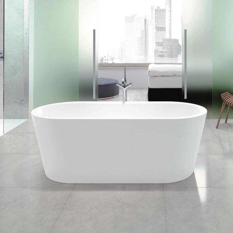 Kaldewei MEISTERSTÜCK CLASSIC DUO OVAL vasca da bagno 180x80 cm in acciaio smaltato, antiscivolo parziale, colore bianco alpino 202642680001-ANTIPAR