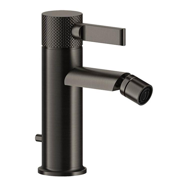 Gessi INCISO- miscelatore bidet con flessibili di collegamento, finitura finox brushed nickel 58007#149
