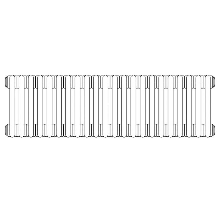 Irsap TESI 3 radiatore 22 elementi H.180 L.99 P.10,1cm, colore bianco finitura lucido RT318002201IRNON03