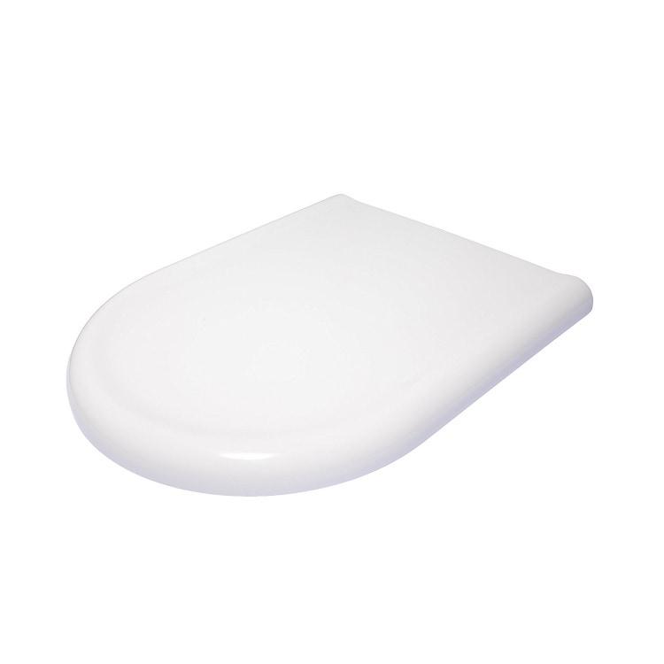 Ceramica Dolomite J104900 Clodia Sedile Termoindurente Con Cerniere Inox Bianco Prezzi E Offerte Su Tavolla Com