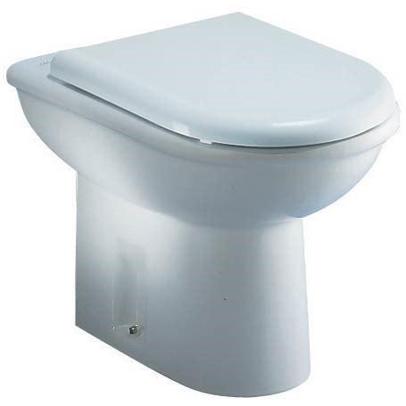 Ceramica Dolomite J254600 Clodia Vaso A Pavimento Per Installazione Distanziata Da Parete Bianco Prezzi E Offerte Su Tavolla Com