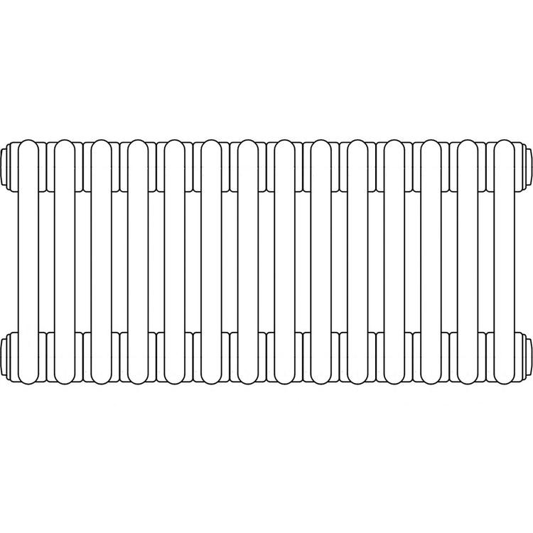 Irsap TESI 3 , radiatore per sostituzione A, 14 elementi 76,5x63x10,1cm, bianco RT307651401IRNON02