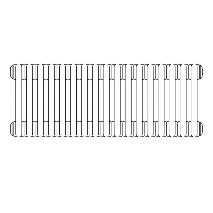Irsap TESI 3 , radiatore per sostituzione A, 17 elementi 76,5x76,5x10,1cm, bianco RT307651701IRNON01