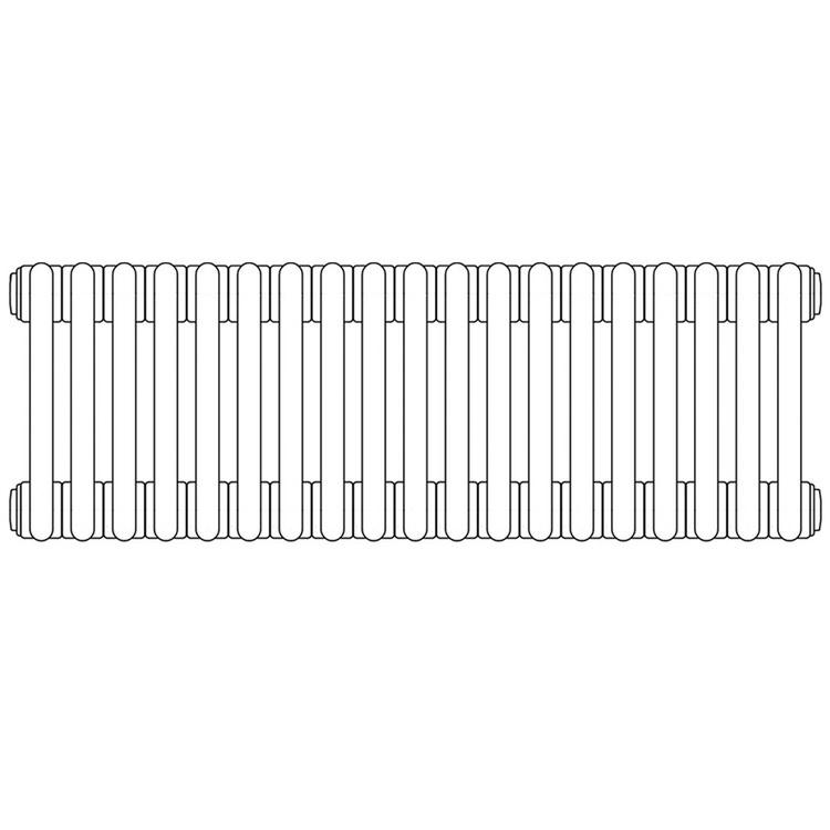 Irsap TESI 3 , radiatore per sostituzione A, 19 elementi 76,5x85,5x10,1cm, bianco RT307651901IRNON02