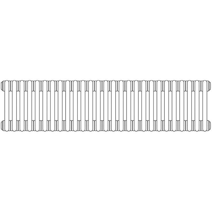 Irsap TESI 3 , radiatore per sostituzione A, 27 elementi 76,5x121,5x10,1cm, bianco RT307652701IRNON01