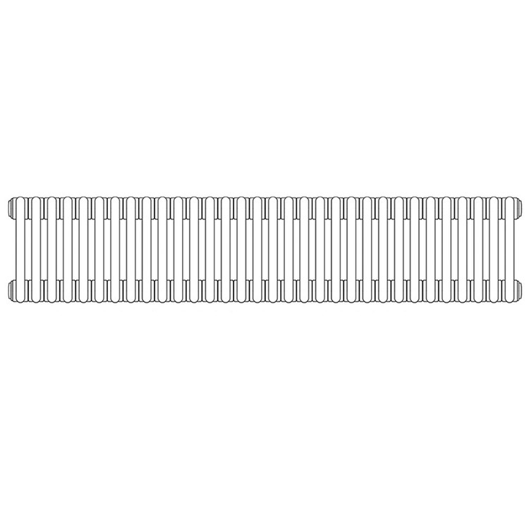 Irsap TESI 3 , radiatore per sostituzione A, 32 elementi 76,5x144x10,1cm, bianco RT307653201IRNON01