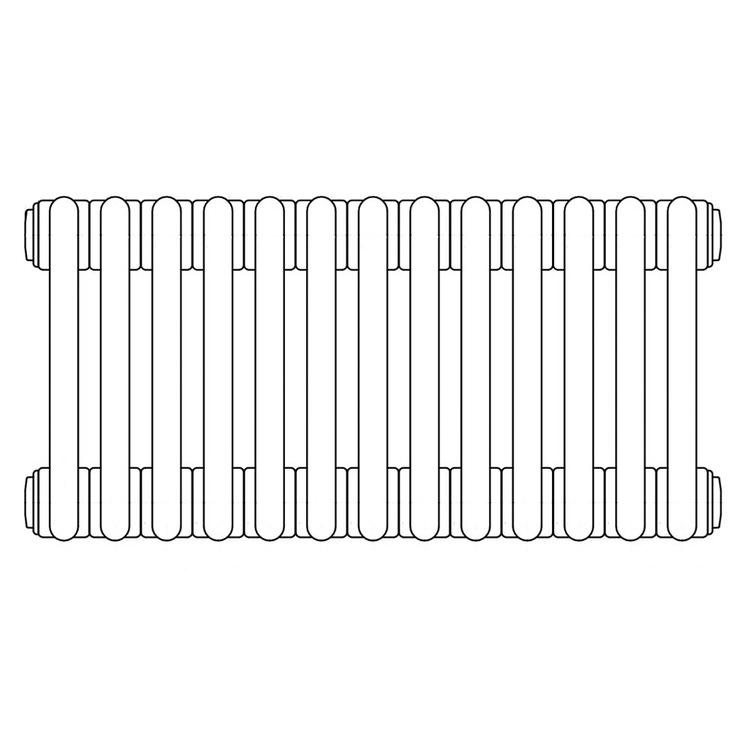Irsap TESI 2, radiatore per sostituzione A, 13 elementi 56,5x58,5x6,5cm, bianco RT205651301IRNON01