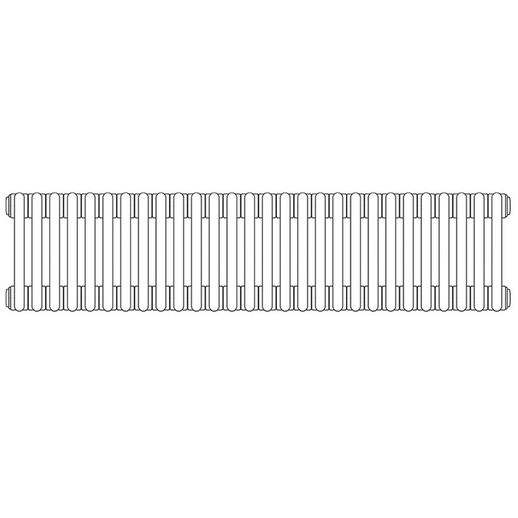 Irsap TESI 2, radiatore per sostituzione A, 28 elementi 56,5x126x6,5cm, bianco RT205652801IR02N01
