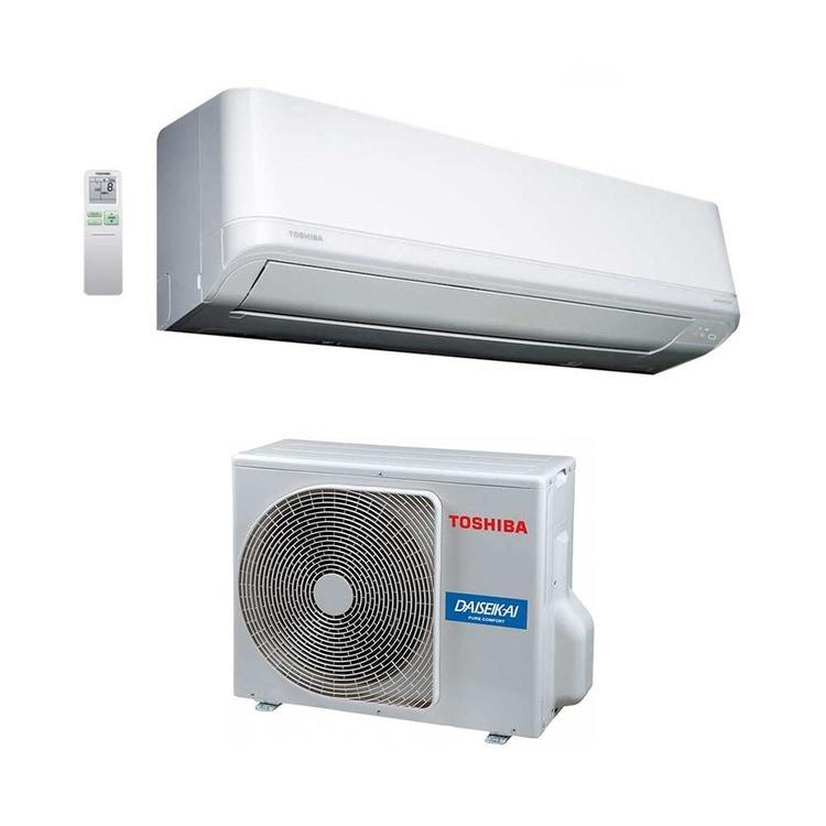 Toshiba DAISEIKAI LIGHT R32 Climatizzatore a parete monosplit inverter | unità esterna 4.6 kW unità interna 16000 BTU RAS-16J2AVRG-E+RAS-B16J2KVRG-E