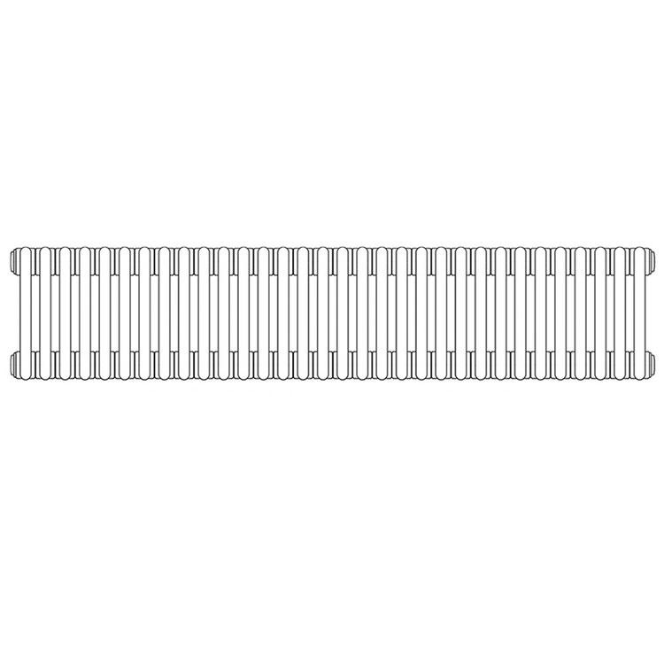 Irsap TESI 2, radiatore per sostituzione A, 32 elementi 56,5x144x6,5cm, bianco RT205653201IR02N02