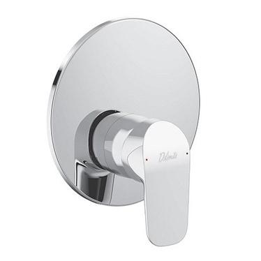 Ceramica Dolomite BASE miscelatore monocomando ad incasso per doccia, non corredato di componenti doccia, cromo A6726AA