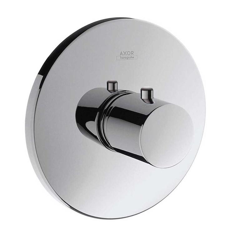 Immagine di Axor UNO miscelatore termostatico, ad incasso, a grande portata, finitura cromo 38715000