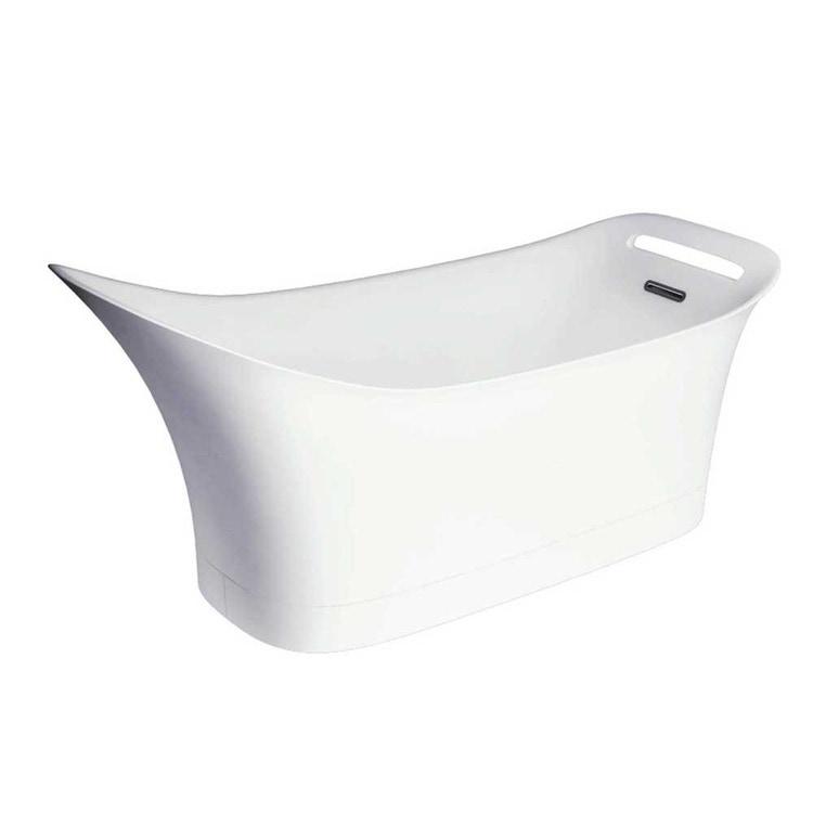 Axor URQUIOLA vasca da 1800/600, a pavimento, colore bianco 11440000