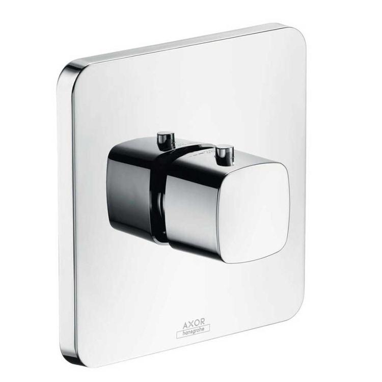 Axor URQUIOLA miscelatore termostatico, alta portata, ad incasso, finitura cromo 11731000