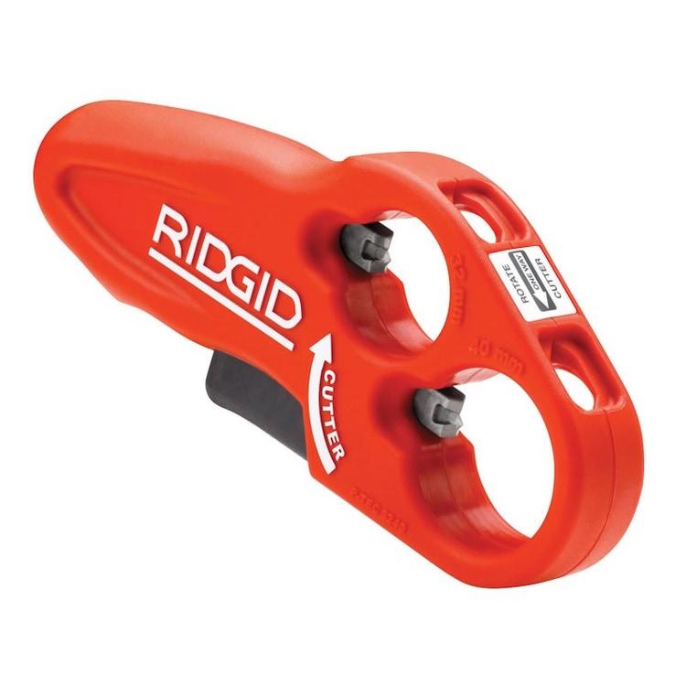 Immagine di Ridgid Tagliatubi per tubi di scarico in plastica, capacità diametro effettivo 32 - 40 mm 37463