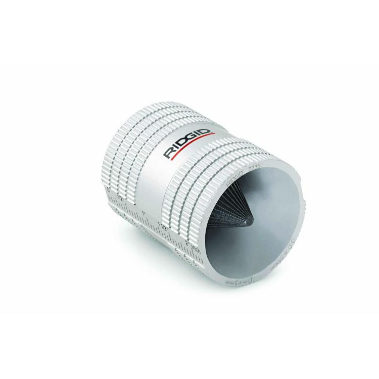 Immagine di Ridgid Alesatore interno e esterno con struttura in plastica, per tubi in acciaio inox e rame, da 6 mm a 32 mm 29983