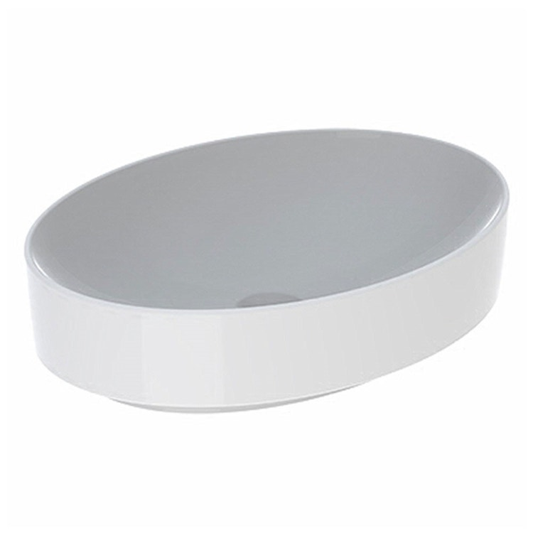 Pozzi Ginori VARIFORM lavabo ovale da appoggio 55x40 cm finitura bianco 500.771.01.3