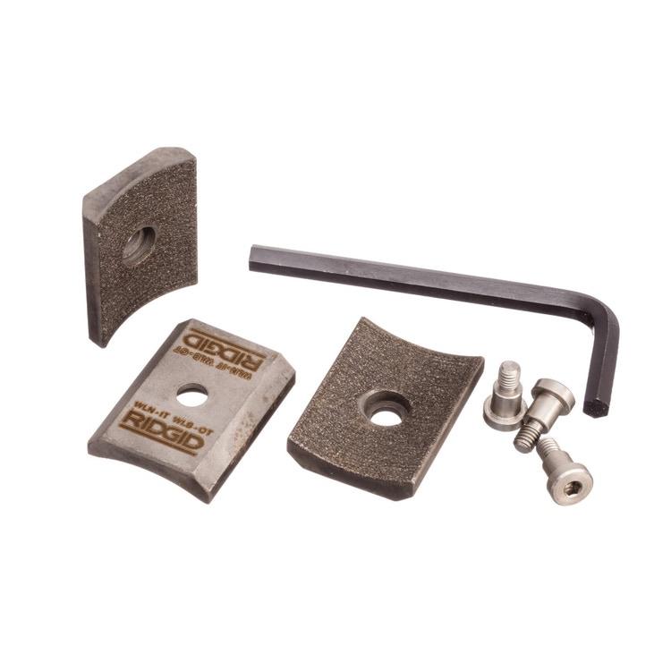 Ridgid Inserto per ganasce con vite, misura N, 55,7mm, in metallo duro, confezione da 3   48323